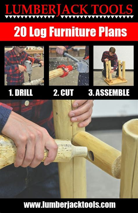 Log Furniture Plans Book