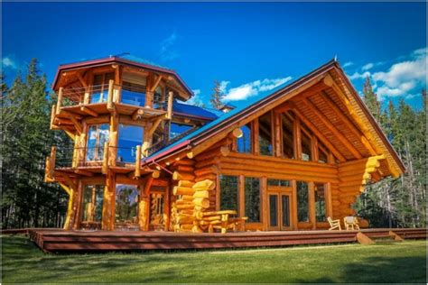 Log Home Plans Designs