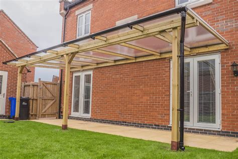 Log Lean To Pergola Suppliers