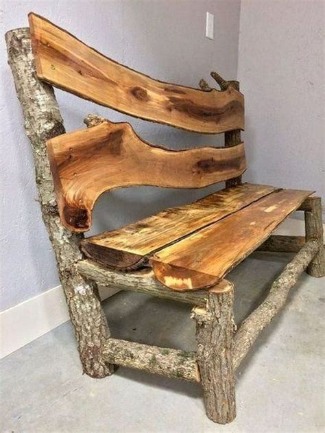 Log Wood Furniture Diy