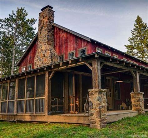 Log-Cabin-Barn-Plans