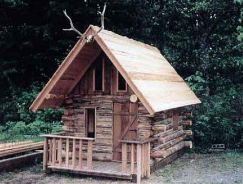 Log-Cabin-Playhouse-Diy