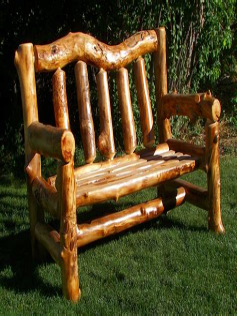 Log-Chairs-Diy