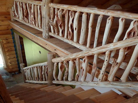 Log-Furniture-And-Railing-Plans