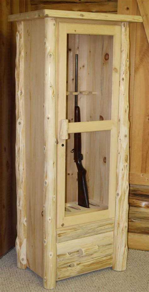 Log-Gun-Cabinet-Plans