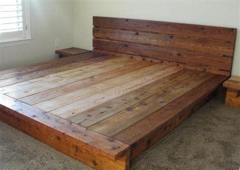 Log-Platform-Bed-Plans