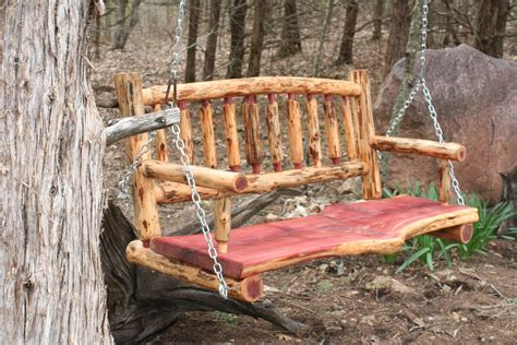 Log-Porch-Swing-Plans