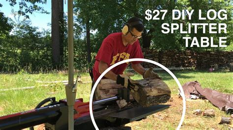 Log-Splitter-Table-Diy