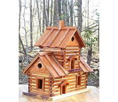 Best Log cabin birdhouse for sale