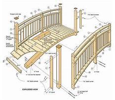 Best Log footbridge plans