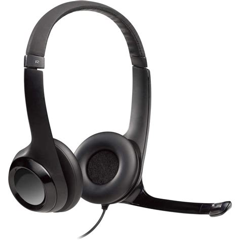 Logitech USB Headset H390 with Noise Cancelling Mic (Case of 16)