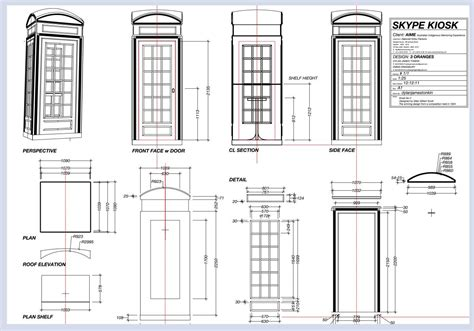 London-Phone-Box-Plans