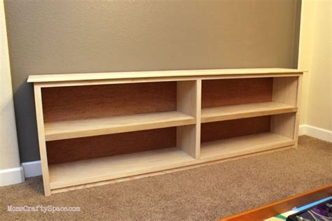 Long Low Bookcase Plans