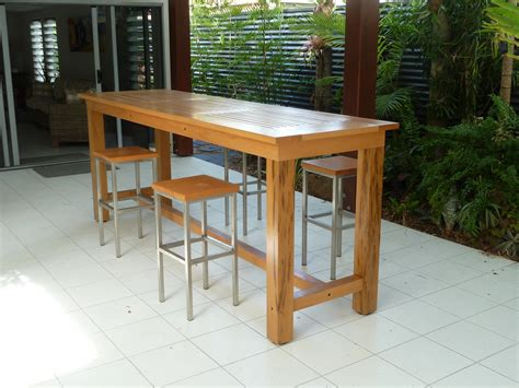 Long Narrow Counter Height Table Plans