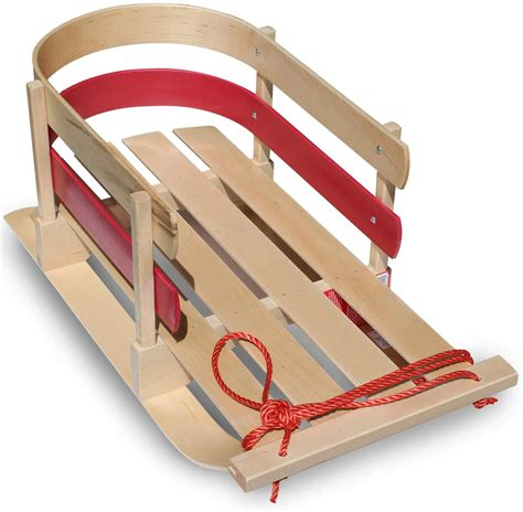 Long Wooden Sleds For Kids
