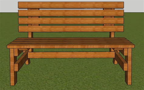 Long-Bench-Building-Plans