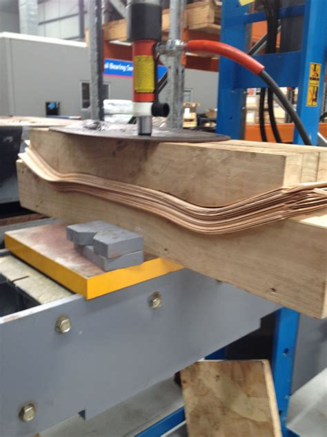 Longboard Wood Bow Press Plans