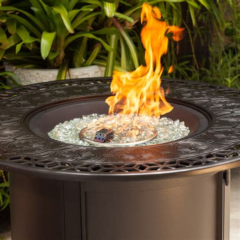 Longpoint Aluminum Propane Fire Pit Table By Fire Sense