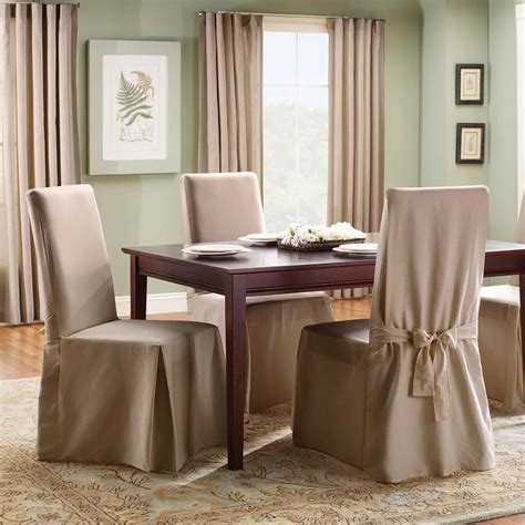 Loose Cotton Dining Chair Covers