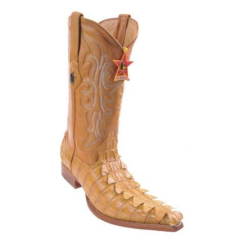 Los Altos Crocodile Boots