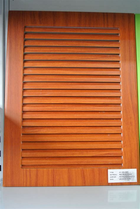 Louvered Raised Panel Cabinet Door Plans