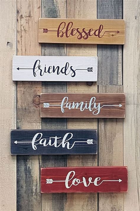 Love Diy Wood Sign Quote