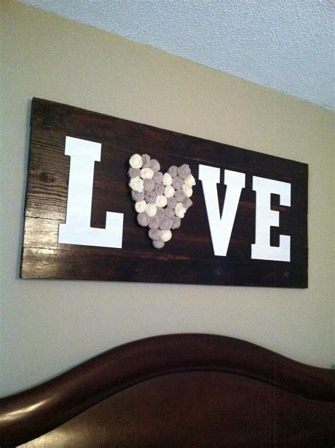 Love Wood Signs Diy