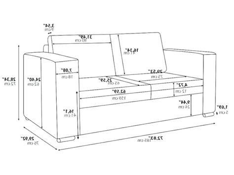 Loveseat Dimensions In Inches