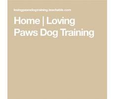 Best Loving paws dog training.aspx