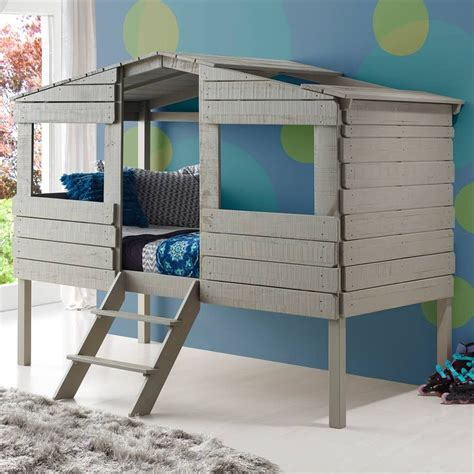 Low Bunk Bed Diy Rustic