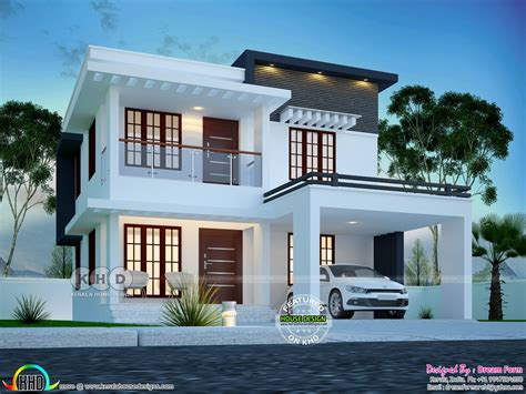 Low Cost Modern House Plans In Kerala