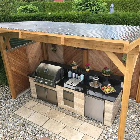 Low Cost Outdoor Kitchen Ideas