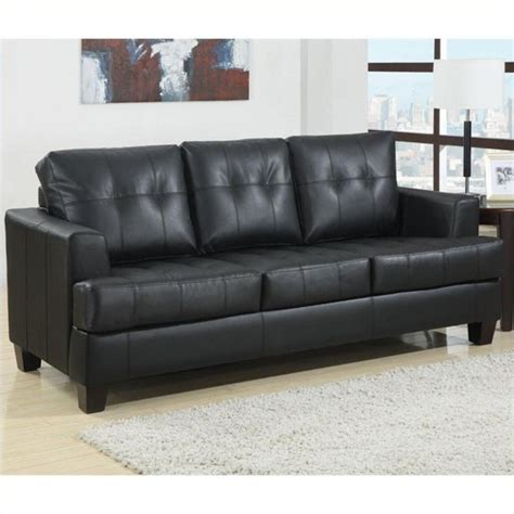 Low Price Faux Leather Sofa Sleeper