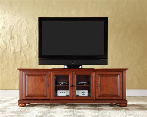 Low Profile Cherry Tv Stand