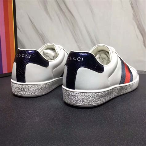 Low Top Ace Sneaker Gucci