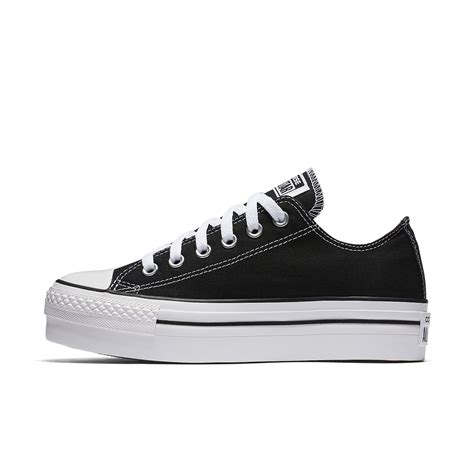 Low Top Converse Platform Sneakers