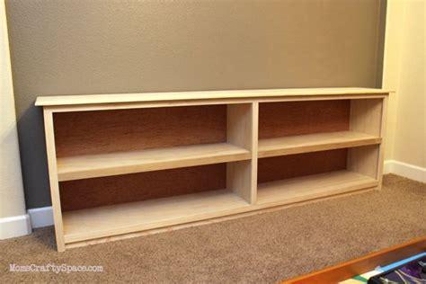 Low-Bookshelf-Plans