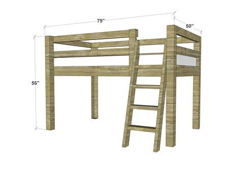 Low-Twin-Loft-Bed-Plans