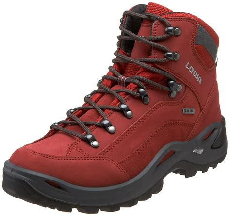 Lowa Men's Renegade GTX Mid Hiking Boot,Expresso/Brown,11.5 M US