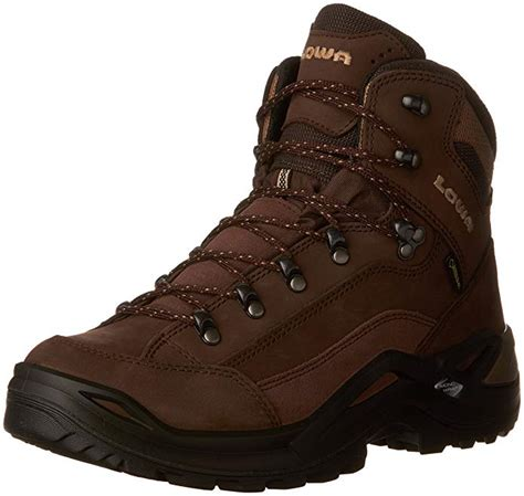 Lowa Men's Renegade GTX Mid Hiking Boot,Expresso/Brown,9.5 M US