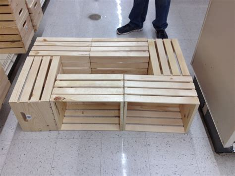 Lowes Coffee Table Diy With Crates