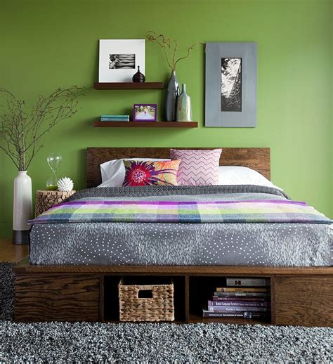 Lowes DIY Platform Bed