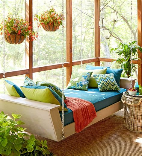 Lowes Diy Hanging Daybed