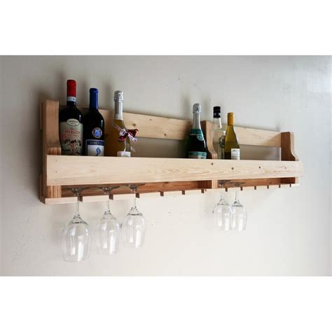 Lowes Holder 16 Bottle Wall Mounted Wine Rack By Millwood Pines