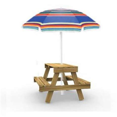Lowes Picnic Table With Umbrella