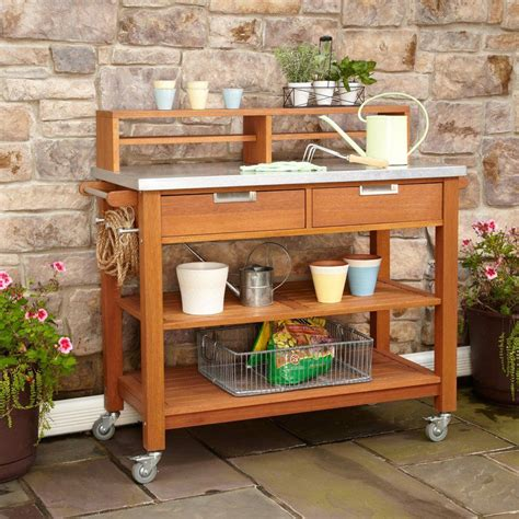 Lowes-Potting-Bench-Plans