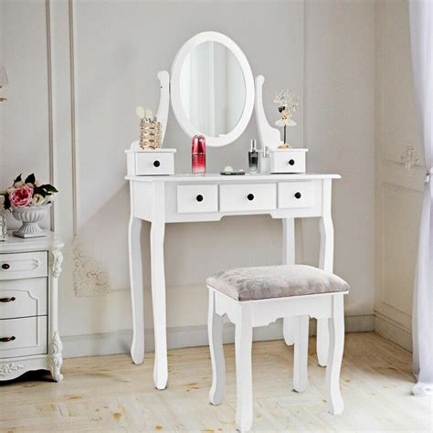Lowestoft Vanity Set With Mirror By Charlton Home
