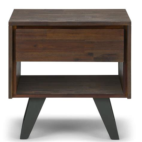 Lowry End Table With Storage By Simpli Home