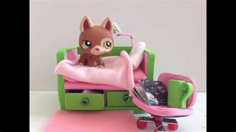 Lps Diy Bed Made Out Of A Phone Cases