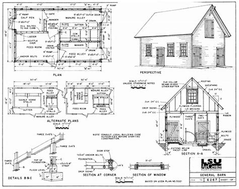 Lsu-Ag-Center-Barn-Plans